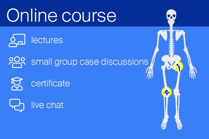 "NAJAVA: ""AO Recon Online Course —Principles of Total Hip and Knee Arthroplasty"" 02.-05.11.2020."