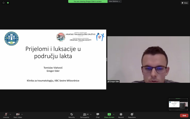 """""""Izrada smjernica Hrvatskog traumatološkog društva – lakat i podlaktica"""" 17.11.2020."""